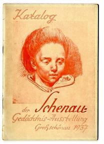 Katalog der Schenau-Gedächtnis-Ausstellung Großschönau 1937.