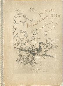 Japanische Tuschezeichnungen nach Mitzugoru und Motoharu.