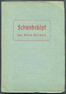 Schwobaköpf.: Auerbach, Alfred:
