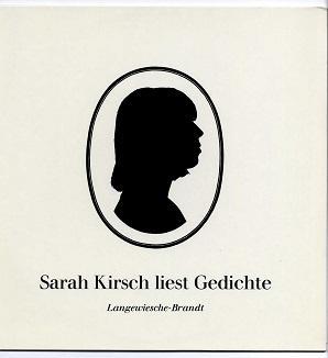 Sarah Kirsch liest Gedichte.: Kirsch, Sarah: