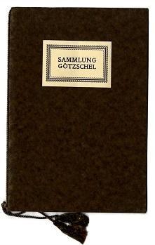 Sammlung Götzschel 1898-1923.: Schmitt, Otto):