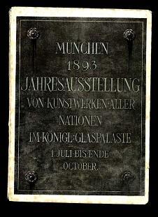 Illustrierter Katalog der Münchener Jahresausstellung von Kunstwerken