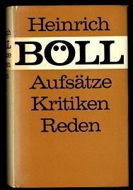 Aufsätze, Kritiken, Reden.: Böll, Heinrich: