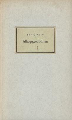 Alltagsgeschichten.: Kein, Ernst.