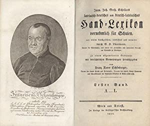 Lateinisch-deutsches und deutsch-lateinisches Hand-Lexikon, von neuem verm. durch G.H. Lü...