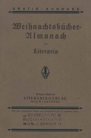Weihnachstbücher-Almanach der Literaria.: Müller, Robert) -