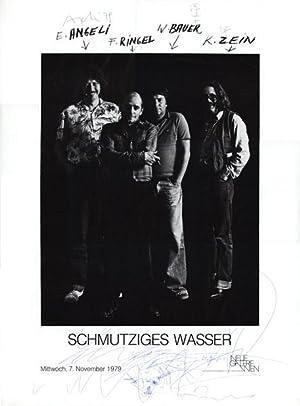 Schmutziges Wasser (Plakat, Foto Hans Weiss). Eduard Angeli / Franz Ringel / Wolfgang ...