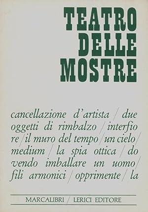 Teatro delle mostre.: Arte povera - (Martiis, Plinio, Hrsg.)