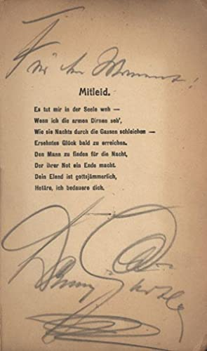 Hetärenlieder.: Gürtler, Danny (Walter Emil Diller).