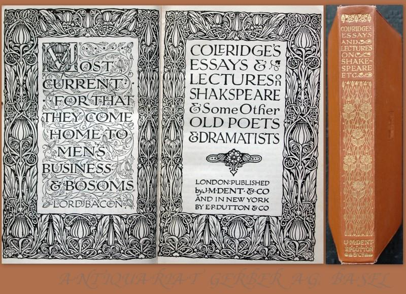 Coleridge Essays And Lectures On Shakespeare - image 11