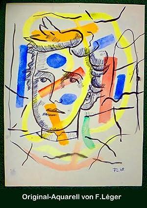 Les Illuminations. Lithographies originales de Fernand Léger.: RIMBAUD, Arthur und