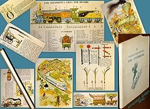 A Viagem Maravilhosa do Comboio. Ilustrações de: MÜLLER, Adolfo Simões: