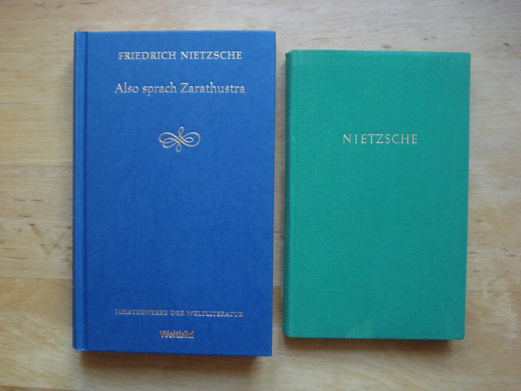 2 Bände - Fest gebunden: Nietzsche, Friedrich
