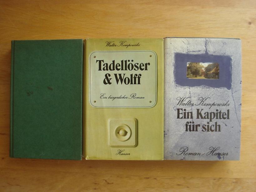 3 Bände: Kempowski, Walter