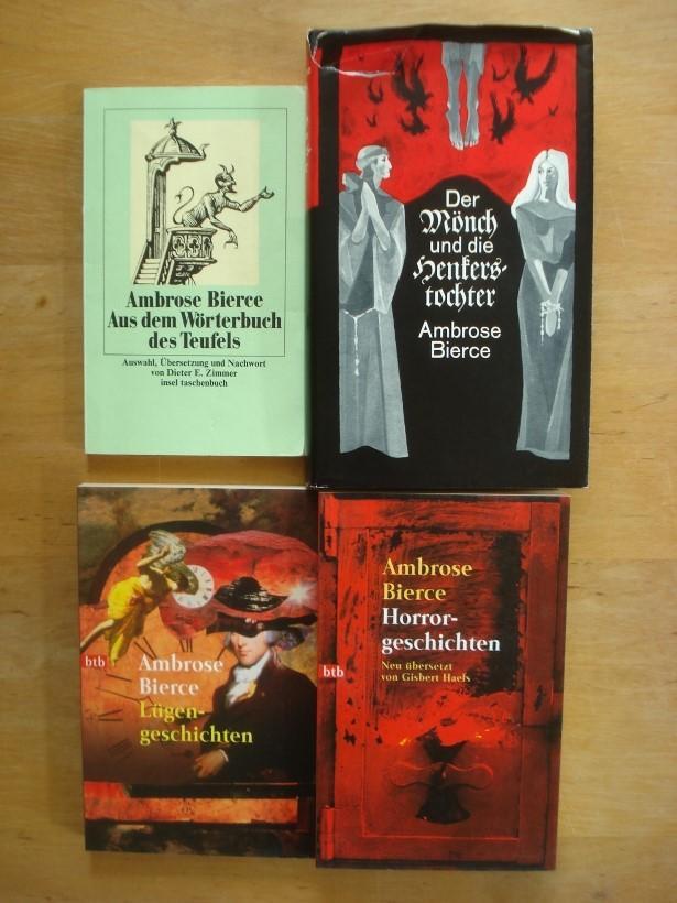 3 Taschenbuch-Bände - + 1 Leinenband: Bierce, Ambrose