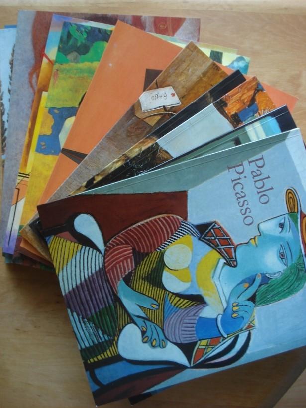 12 Kunstbände aus dem Taschen Verlag in