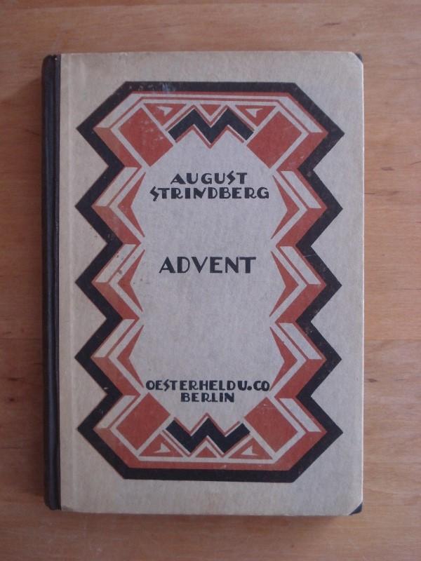 Advent - Ein Mysterium: Strindberg, August