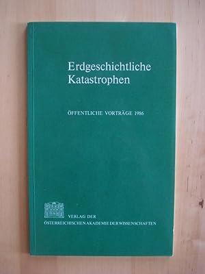 Erdgeschichtliche Katastrophen - Öffentliche Vorträge 1986