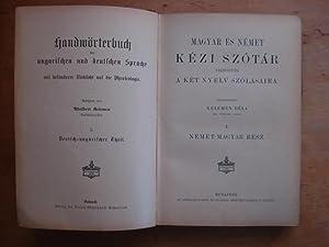 Handwörterbuch der ungarischen und deutschen Sprache mit: Keleman, Adalbert (Kelemen,