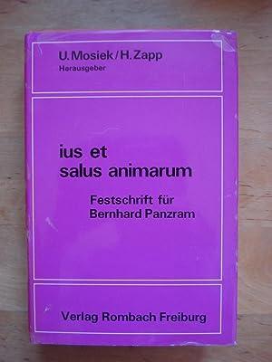 ius et salus animarum - Festschrift für Bernhard Panzram: Mosiek, Ulrich & Zapp, Hartmut (Hrsg...