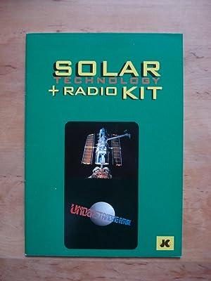 Solar Technology + Radio Kit (Text dreisprachig, Deutsch, Englisch und wohl Niederländisch)