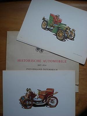 Historische Automobile 1897 - 1914 - Pionierland Österreich