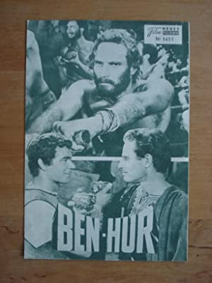 Neues Film-Programm No. 5451 - Ben-Hur