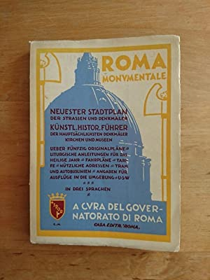 Roma Monumentale / Rome and its Monuments / Die Denkmäler Roms