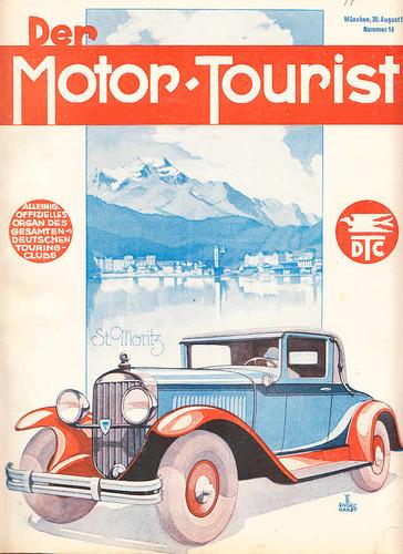 Der Motor-Tourist, Nr. 18. 1929, 39. Jahrgang: Gesamter Deutscher Touring-Club: