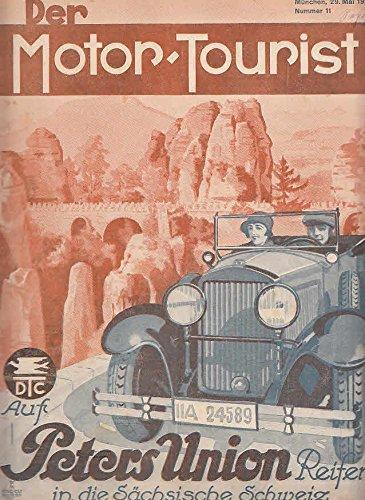 Der Motor-Tourist, Nr. 11. 1929, 39. Jahrgang: Gesamter Deutscher Touring-Club: