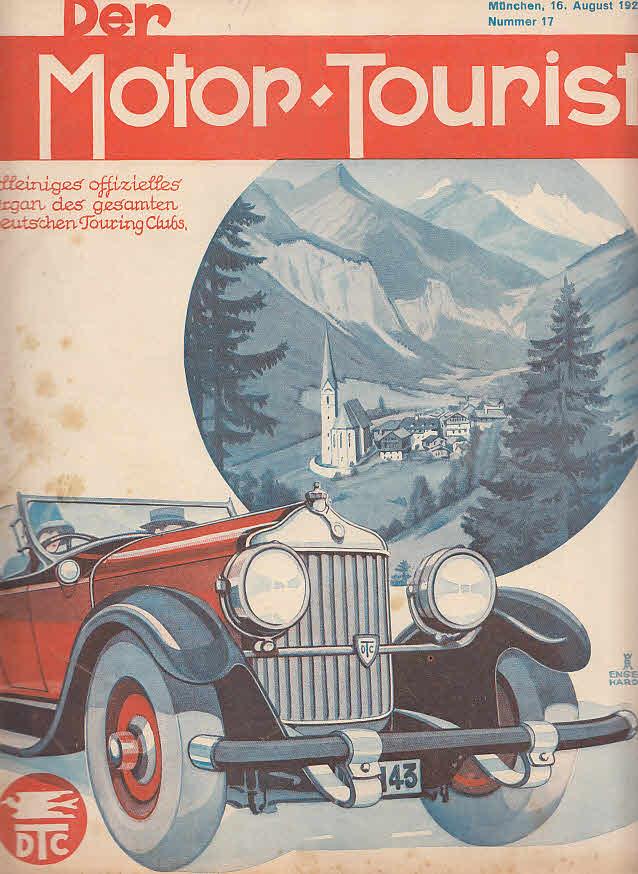 Der Motor-Tourist, Nr. 17. 1929, 39. Jahrgang: Gesamter Deutscher Touring-Club: