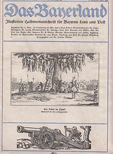 53479 Das Bayerland Illustrierte Halbmonatschrift Für Bayerns Land Und Volk