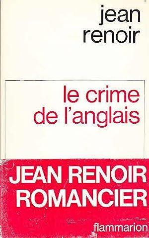 Le crime de l`anglais: Renoir, Jean:
