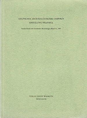 Hassek Höyük: vorläufiger Bericht über die Ausgrabungen: Behm-Blancke, M. R.,