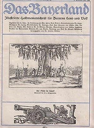Das Bayerland: Illustrierte Halbmonatschrift für Bayerns Land und Volk, 30. Jhrg., Nummer 1 1918 = Sonderdruck 3. Aufl. als Werbeheft für die 9. Kriegsanleihe