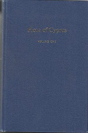 Flora of Cyprus, Volume 1 Literaturverz. S.: Meikle, Robert D.: