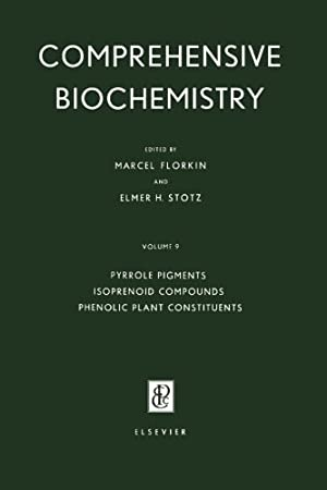 Pyrrole Pigments, Isoprenoid Compounds and Phenolic Plant Constituents: Comprehensive Biochemistr...