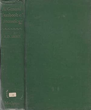 A General Textbook of Entomology; Including the: Imms, A. D.,