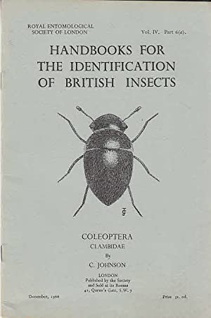 Handbooks for the identification of British insects / Royal Entomological Society of London : Vol...