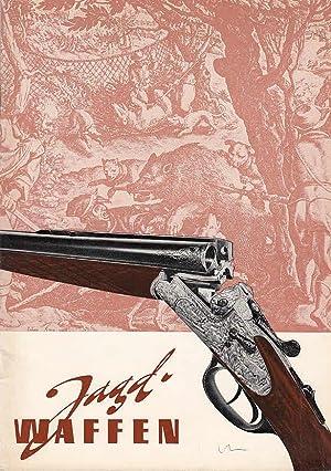 Jagdwaffen : Preisliste 165 über Jagdgewehre aller Art, Ausgabe 1962: Kaschel & Behr: