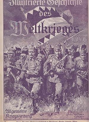 Illustrierte Geschichte des Weltkrieges 1914/15, Heft 36: Verlagsredaktion Gustav Feller