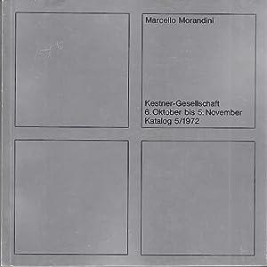Marcello Morandini katalog z. Ausstellung Kestner Gesellschaft: Morandini, Marcello: