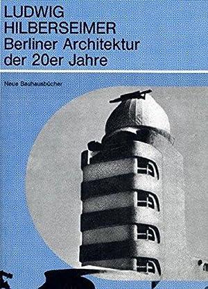 Entdecken sie die b cher der sammlung architektur for Architektur 20er
