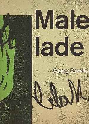 Georg Baselitz : Malelade [The Museum of: Baselitz, Georg, Peter