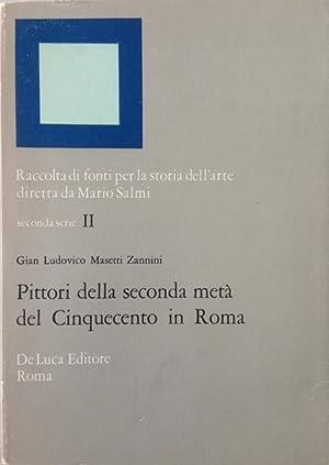 Pittori della seconda metá del cinquecento in: Masetti Zannini, Gian