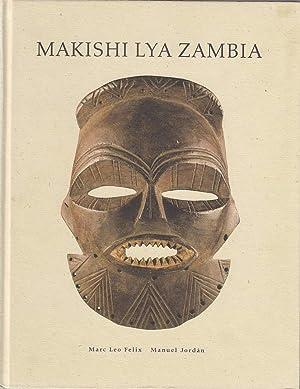 Makishi lya Zambia ; Mask characters of: Felix, Marc Leo,