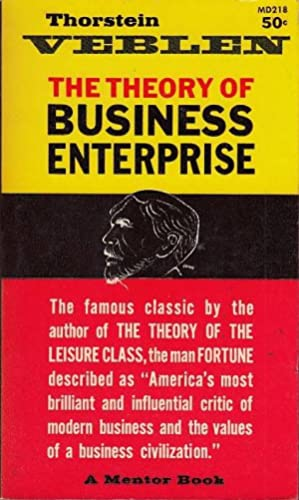 The Theory of Business Enterprise Mentor Book