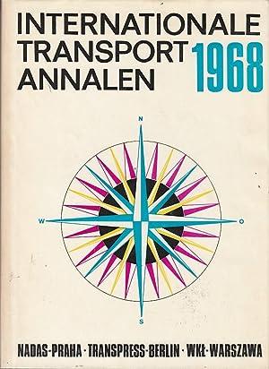 Internationale Transport Annalen 1968: Lausmanova, Zdenka, Eberhard