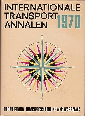 Internationale Transport Annalen 1970: Lausmanova, Zdenka, Eberhard