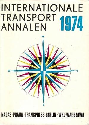 Internationale Transport Annalen 1974: Lausmanova, Zdenka, Eberhard